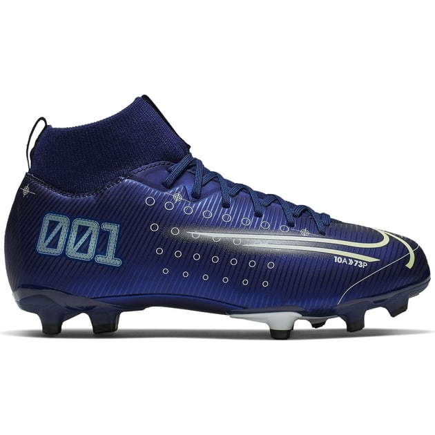 Nike JR SUPERFLY 7 ACADEMY MDS FG Blau