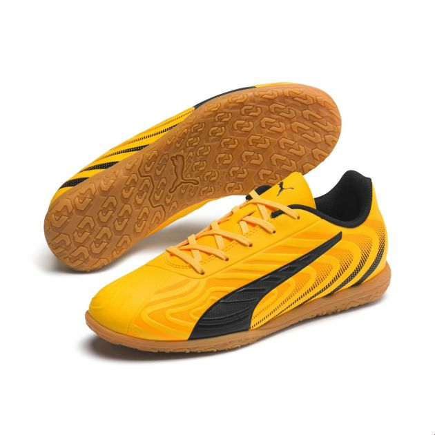 Puma One 20.4 IT Jr Gelb