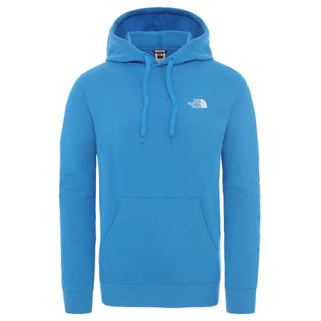 The North Face M GRAPHIC HOODIE Blau