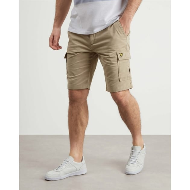 Lyle & Scott Cargo Shorts Beige