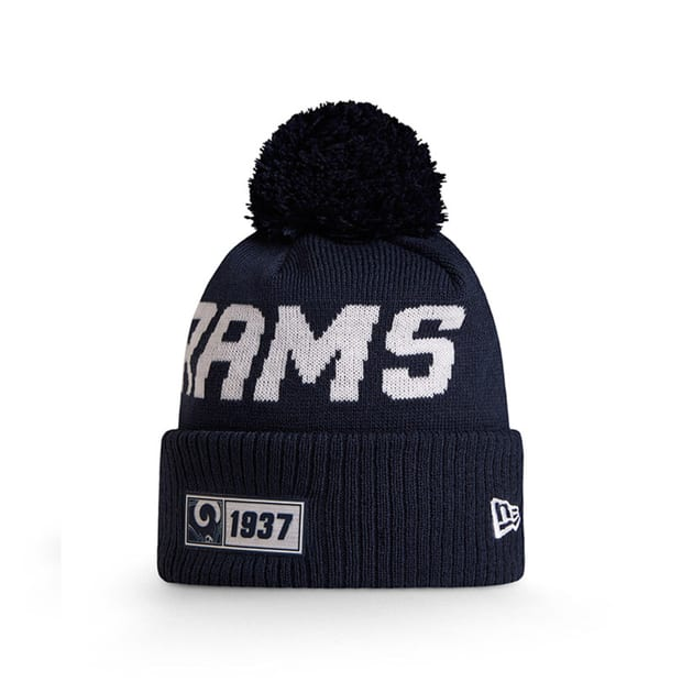 New Era Onfield Sport Knit Los Angeles Rams Mütze Bunt