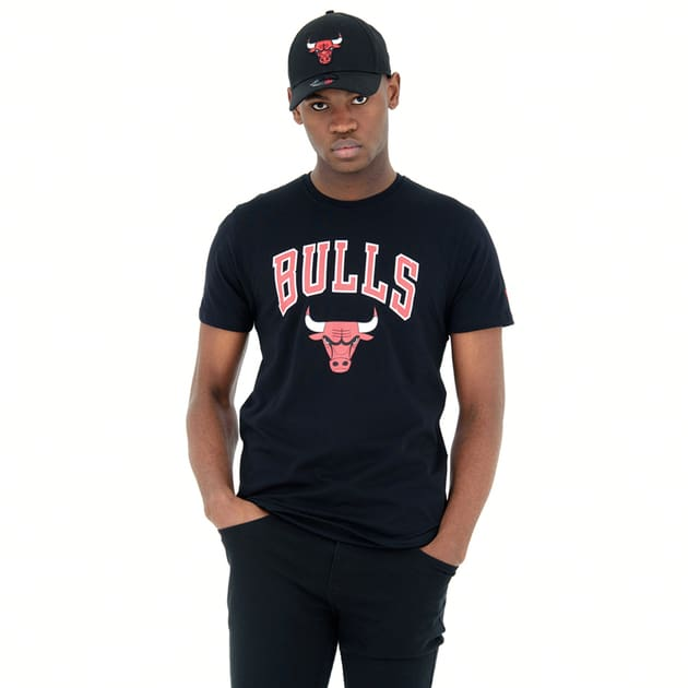 New Era Team Logo T-Shirt Chicago Bulls Bunt