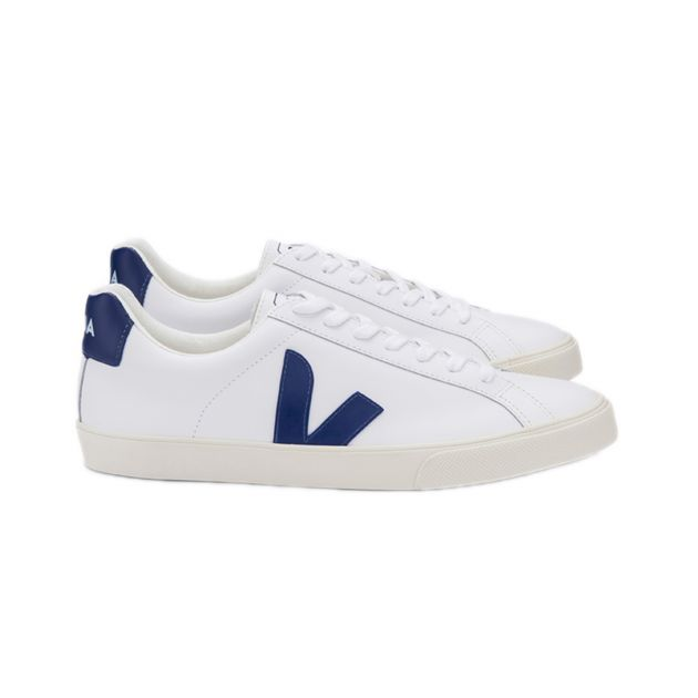Veja ESPLAR-LOGO LEATHER EXTRA-WHITE_ Weiß