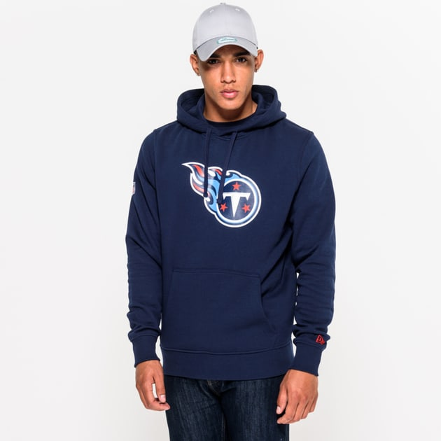 New Era Team Logo Hoodie Tennessee Titans Bunt