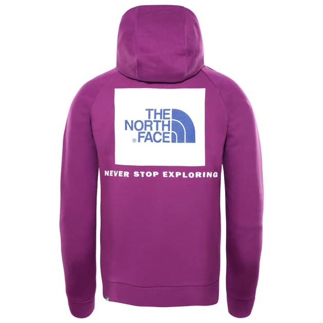 The North Face M RAGLAN RED BOX HOODIE bei Sport Münzinger München