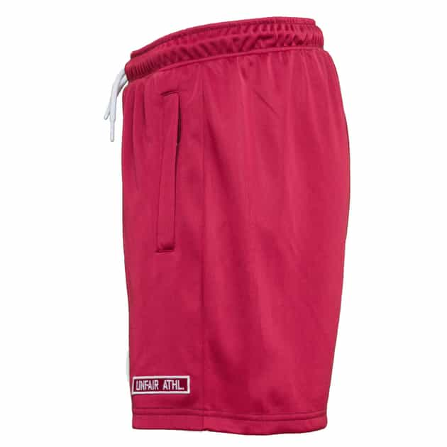 Unfair Athletics DMWU Athletic Short Burgund bei Sport Münzinger München